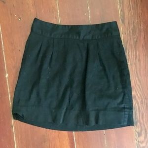 Urban Outfitters Silence + Noise Black Mini Skirt